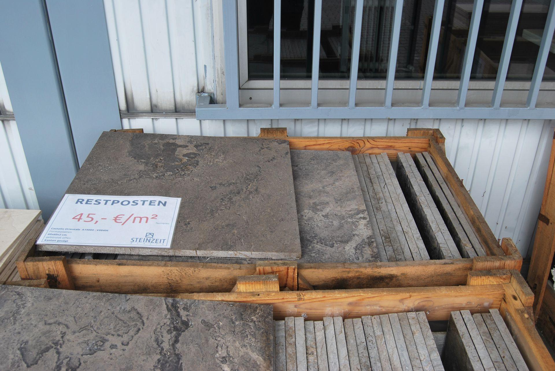 Formatplatten Castello Orientale – REDUZIERT 2