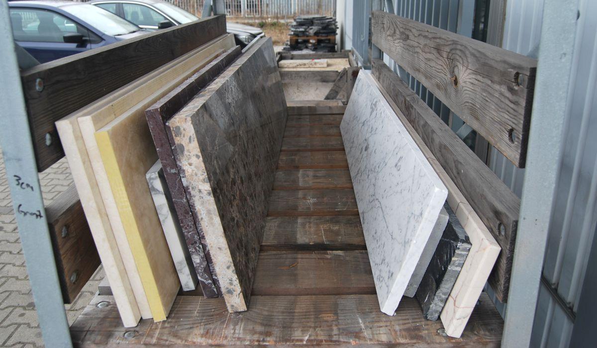 Marmor- und Granitformatplatten
